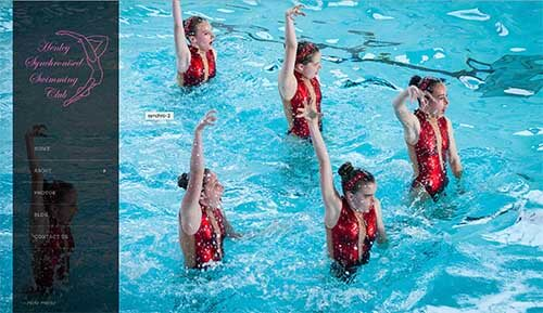 New website design for Henley Synchro Swimming Club
