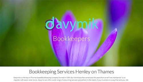 Redesign Website for Davymik Ltd