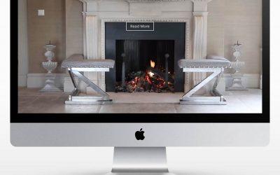 A Portfolio website design for furniture designer