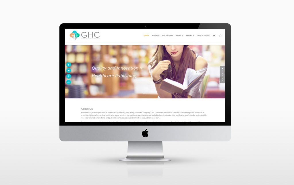 E-commerce website design for GHC