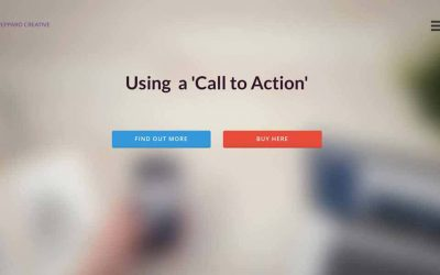Using a Call to Action in your Website design