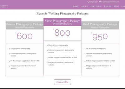 website-design-pricing-table