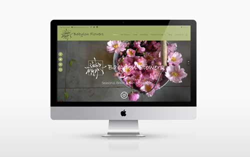 Babylon Flowers new website