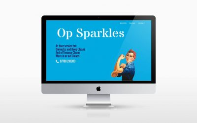 OpSparkles New Website Design