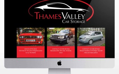 New Website design for Thames Valley Classics