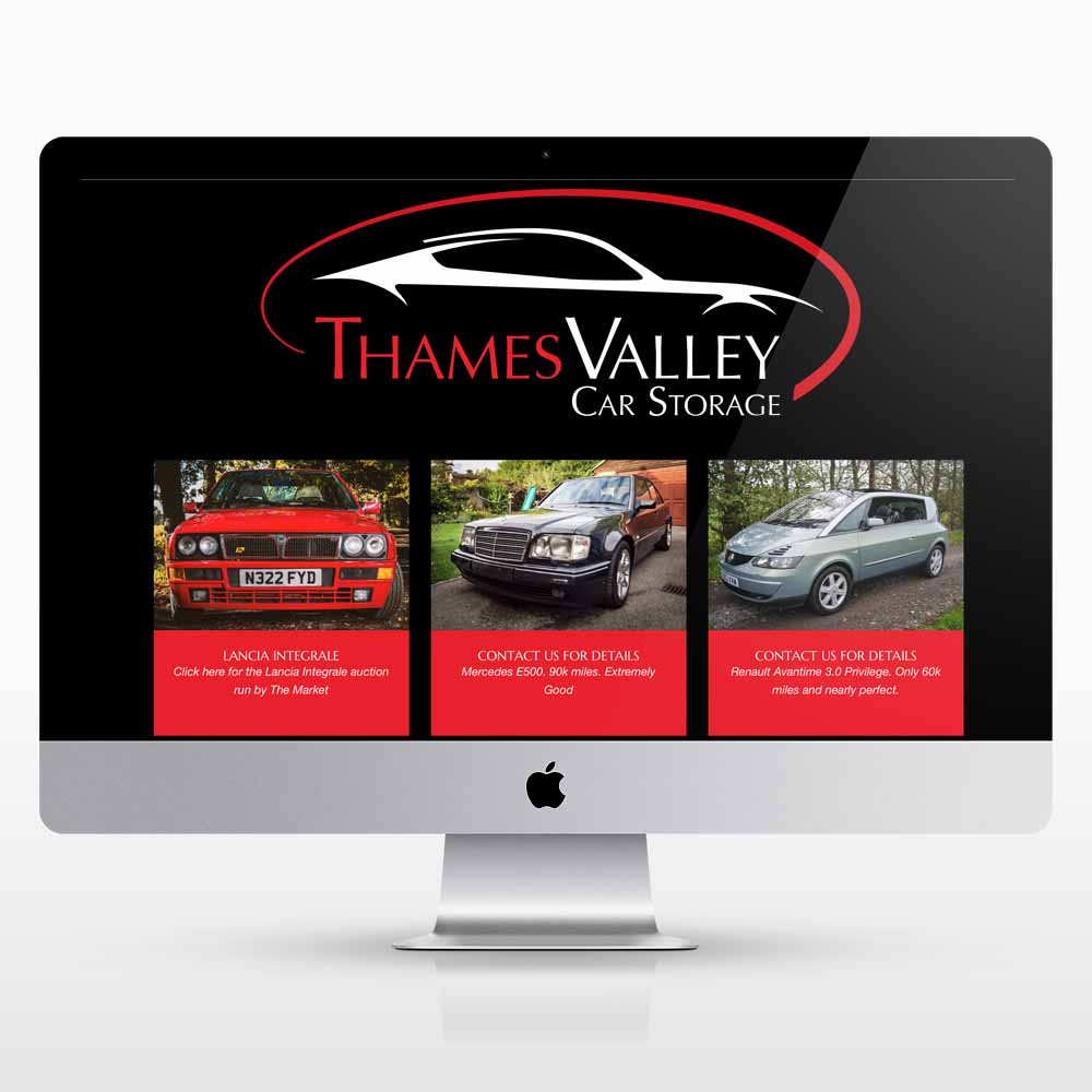 A New website design for Thames Valley Car Storage