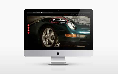 New website design for Thames Valley Car Storage