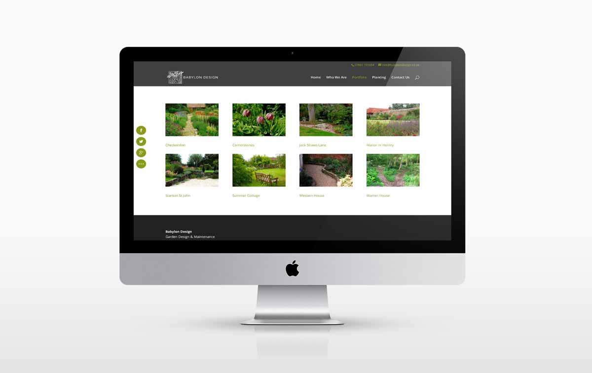 website designers oxfordshire