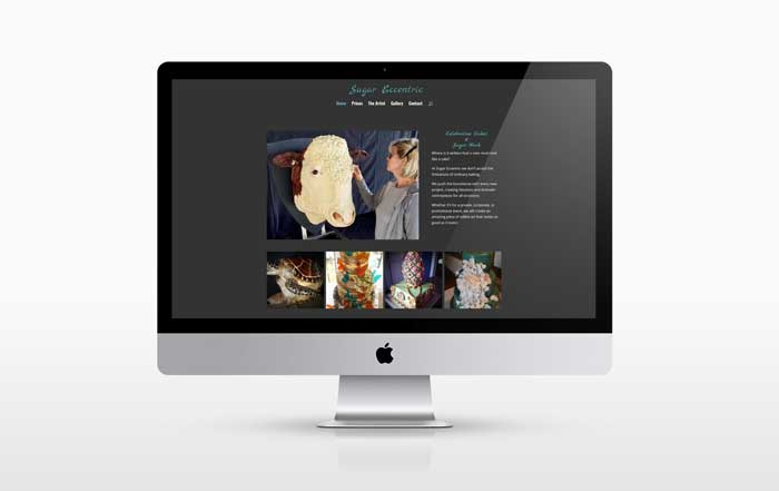 New web design for Sugar Eccentric