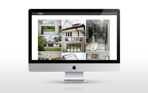 website redesign for Dcatlin Building