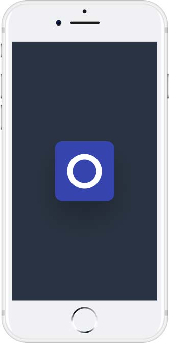 Photo of a phone used on freelance website designer website oxfordshire
